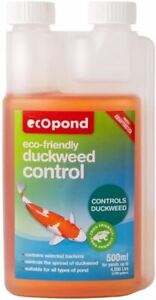 EcoPond Duckweed Control - Eco Friendly for All Types of Pond - 500ml