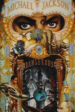 """Michael Jackson """"Dangerous"""" (Cassette, Nov-1991, Epic (Sony Canada)"""