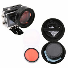 58mm Close-Up Macro 16X Magnifier + Filter for SJCAM SJ6 Legend Action Camera TR