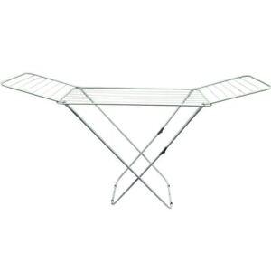 extensible Prop Tendedero de metal galvanizado para colgar al aire libre para lavander/ía