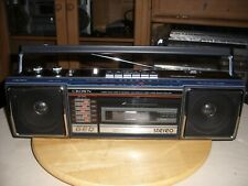 Radiorecorder/Ghettoblaster Crown CS-550 - made in Japan -