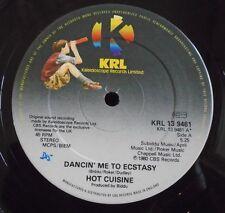 "HOT CUISINE ~ Dancin Me To Ecstacy ~ 12"" Single"