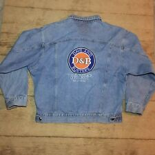 DAVE & BUSTERS Mens Denim Jean Jacket XL Dallas Texas Embroidered Vtg Bold 90s R
