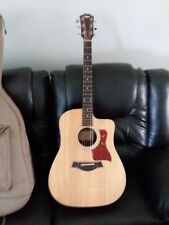 taylor 110ce acoustic electric guitar natural