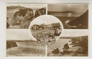 Cornwall postcard - Newquay - Multiview (A1765)