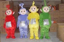 Xmas Party Teletubbies TV Cartoon Character Teletubby Mascot Cos Fancy FUN Dress