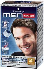 Schwarzkopf Men Perfect - For Men - Gentle Hair Color Gel - Light Brown 50