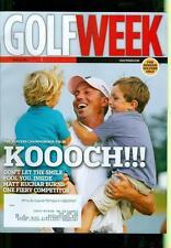 2012 Golf Week Magazine: Matt Kuchar - The Players Championship/Fiery Competitor