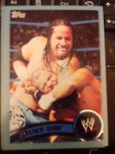 2011 Topps WWE Wrestling BLUE #34 Jimmy Uso #d 1436/2011