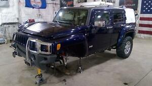 06-10 Hummer H3 Right Rear Power Window Regulator/Motor OEM