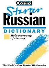 The Oxford Starter Russian Dictionary (Oxford Starter Dictionaries) By Della Th