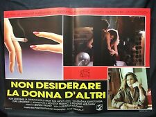 FOTOBUSTA CINEMA - NON DESIDERARE LA DONNA D'ALTRI - G. SZAPOTOWSKA - 1987 - 03
