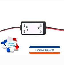 Filtre antiparasite câble 12v pour caméra de recul auto voiture camping car