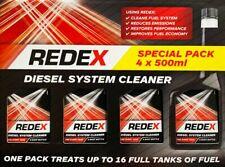 4 X 500ml Diesel Fuel System Cleaner by Redex