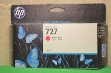 HP 727 Genuine Original Magenta Designjet T920 T1500 T2500  B3P20A Date 2017