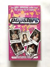 Hear'Say ultra rare SIGNED autographed Popstars VHS