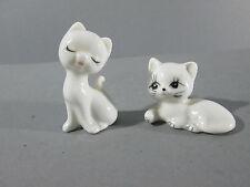 Keramik-Tierfiguren mit Katzen-Motiv