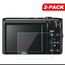 2x Tempered Glass Screen Protector for Nikon Coolpix A300 A100 A10 S3700 Camera