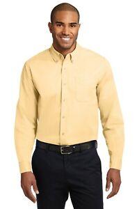 New Port Authority Extended Size 7XL 8XL 9XL 10XL Long Sleeve Easy Care Shirt