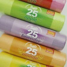 125 Scented Swing Bin Liners 50L Bags Fragrance Refuse Waste Sack Multi Colour