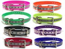 "Sparky Pet 3/4"" Reflective Collars for Dogtra, PetSafe, SportDOG E Collar USA"