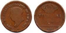 420 # Regno delle 2 Sicilie Ferdinando I° 5 Tornesi 1819.B/MB