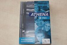 3 slips neufs bleus, rayés, taille 16 ans marque ATHENA Campus