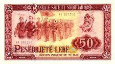 Albanie  - Albania billet neuf de 50 leke pick 45a UNC 1976