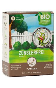 Plantura Zünslerfrei Xentari® gegen Buchsbaumzünsler & Schadraupen / 8 x 2g
