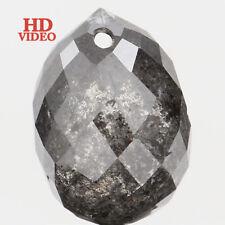 2.48 Ct Natural Loose Diamond Drop Shape Salt And Pepper 1 8.10 X 580 MM L2497