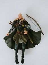 The Lord of the Rings Legolas w/ Weapon Wielding Action Toy Biz 2001