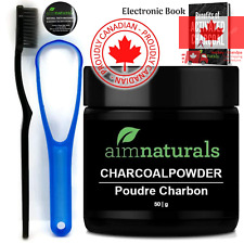 Best Canadian Natural Teeth Whitening Activated Charcoal Powder In Bulk 50g H...