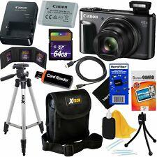Canon PowerShot SX720 HS 20.3MP 40X Optical Zoom Wifi Digital Camera+64GB KIT BK