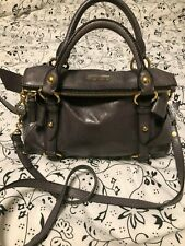 Authentic Miu Miu Prada Vitello Lux Bow Fold Over Hobo Crossbody Bag Handbag