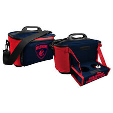 Melbourne Demons  AFL Lunch Cooler Bag With Drink Tray Table Insulated Work