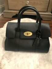 Authentic Mulberry New Bayswater Leather Satchel Handbag