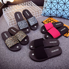 Fashion Womens Summer Wedge Heel Slide Slipper Platform Shoes Flip Flops Sandals