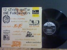 THE FOLKSWINGERS  12 String Guitar  LP   Lovely copy !!