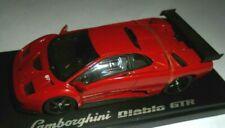 Car 1/43 Kyosho 03215r Lamborghini diablo GT-R red 1999 Box