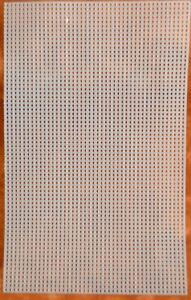"""7 Count Plastic Mesh Canvas 10 x 6"""" - Cross Stitch Kids Craft Sewing Supplies"""
