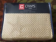 Chaps Elizabeth Floral 4 Pc 100% Cotton Queen Sheet Set  NEW