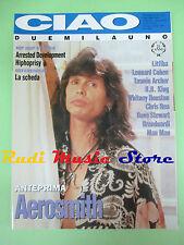 rivista CIAO 2001 3/1993 Aerosmith Litfiba B.B. king Leonar Cohen Mau Mau  No cd