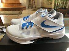 new styles 2892a a8aed Nike Zoom KD 4 IV CT16 QS Thunderstruck White Blue AQ5103 100 size 13