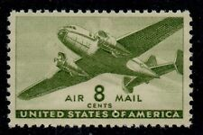 Scott C26 Eight Cent Twin-Motored Transport Plane Issue of 1944 MNH L3