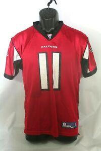 Reebok Onfield Atlanta Falcons Julio Jones 11 Youth Jersey Sz XL (18-20) Red