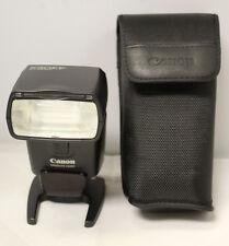 Canon 430EX Speedlite Flash w/ Case Stand
