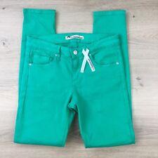 Jag Technicolour Green Slim Women's Jeans Size 8 W28 L29.5 NWOT (AB1)