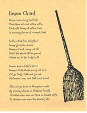 Book of Shadows Spell Pages ** Besom Spell ** Wicca Witchcraft BOS