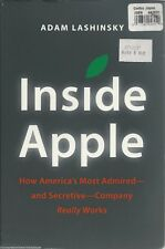 INSIDE APPLE How Company Works ADAM LASHINSKY Book BUSINESS Strategy STRUCTURE