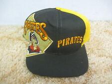 Vintage 1990's Twins Enterprise Pittsburgh Pirates Big Vintage Logo Snapback Hat